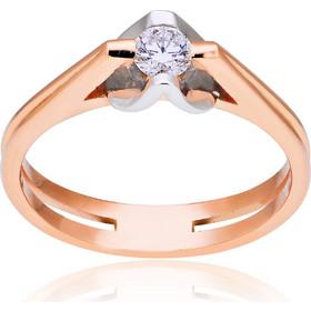 μονοπετρο δαχτυλιδι με διαμαντι και ροζ χρυσο - Μονόπετρα Δαχτυλίδια ... 4deed7435c5