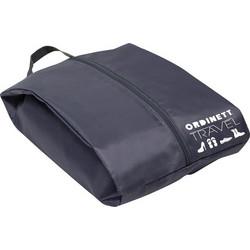 30e3f29121 ORDINETT ITALY Τσάντα Ταξιδιών για Υποδήματα 22x38x14cm 12lt Πολυεστέρας  SHOE BAG Γκρι Σκούρο