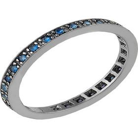 Βεράκι δαχτυλίδι από μαύρο πλατινωμένο ασήμι με πέτρες ζιργκόν 913a2371758