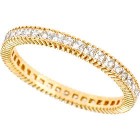 Δαχτυλίδι ολόβερο χρυσό με ζιργκόν 746bd811934