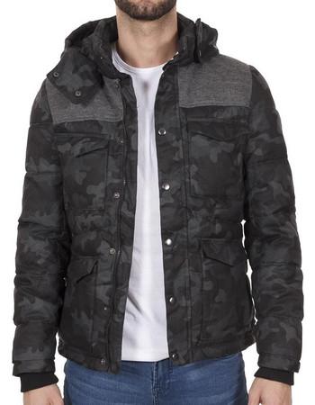 Ανδρικό Μπουφάν Puffer Jacket SPLENDID 34-201-070 Γκρι c82a08a3ca0