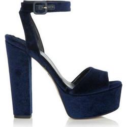 Sante 98451 μπλε γυναικεία πέδιλα Sante SKU-98451-14 be14bc92c0e
