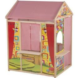 ca667d1e1b0b Marionette Wooden Toys 56388 Ξύλινο Παιδικό Σπιτάκι Κουκλοθέατρο 119x84x90cm