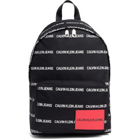 69bfd5871f CALVIN KLEIN Round Backpack - Logo Marquee.