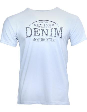 Αντρικό t-shirt gsecret με ανάγλυφη στάμπα σε κανονική γραμμή.Casual style.  ΛΕΥΚΟ f61313c716b