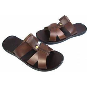 δερματινα παπουτσια καφε - Ανδρικά Σανδάλια 511c21557f5
