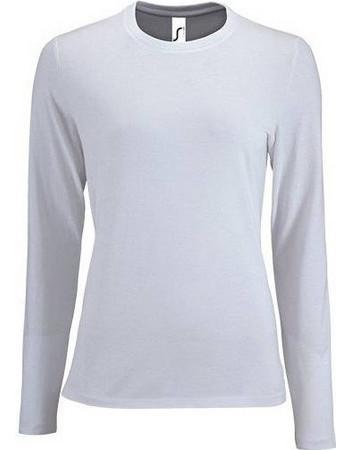 Sol s Imperial LSL Women Λευκό 02075 Γυναικείο μακρυμάνικο T-shirt -  WHITE-102 3fe649d7a52
