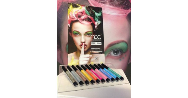 HCC Hair Color Corrector Waterproof Hair Mascara 201 Gold Color ... cfe69be0638