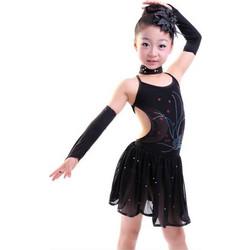 bd8a2759225b Παιδική Latin Στολή χορού L15 7715