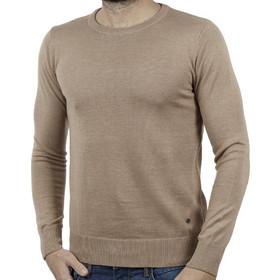6dc3fe34df6c Ανδρικό Πλεκτή Μπλούζα BATTERY 061000282 Beige