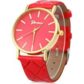 Geneva K15 Γυναικείο Ρολόι Καρπού Κόκκινο a25d32ee1d8