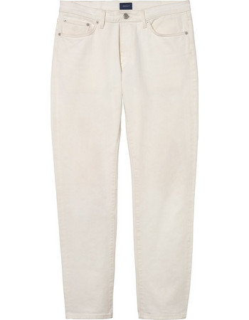 Gant ανδρικό jean παντελόνι Slim fit (34L) - 1000112 - Εκρού 580f2e58eee