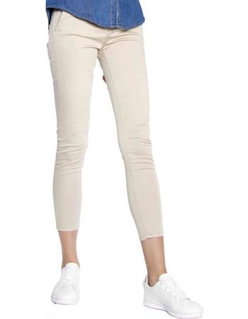 Παντελόνι chino με ζώνη - Μπεζ 87588f529ee