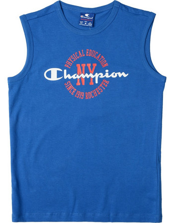 a19ff10fca8 Champion Sleeveless Crewneck Παιδικό T-Shirt 304600-BS023