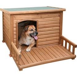bab964e02ee6 Σπίτι Σκύλου Ξύλινο Μεγάλο με Αυλή