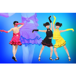 2431893e8c5 Παιδική Latin Στολή χορού L16 7716
