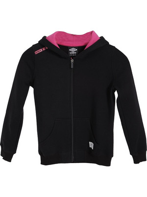 Umbro Hoody Jnr Your Mind 66728E-BLACK