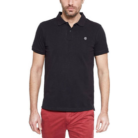 a13dc0dc5269 Timberland Millers River Pol Black Ανδρικό Polo T-shirt CA1S4J001