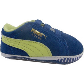 PUMA SUEDE CRIC INFANT 355965 01 ROYAL ΡΟΥΑ ΚΙΤΡΙΝΟ