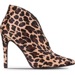 99377b6037a Μποτάκια High Heels γυναικεία Classico Donna Λεοπάρ 4218