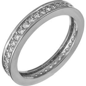 Ολόβερο δαχτυλίδι Κ14 λευκόχρυσο 030464 030464 Χρυσός 14 Καράτια dc457b71ef3