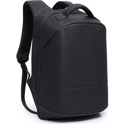 f759d6f0db4 Σακίδιο πλάτης αντικλεπτικό TRV-003 pakoworld μαύρο με usb+Laptop 15  064-000022