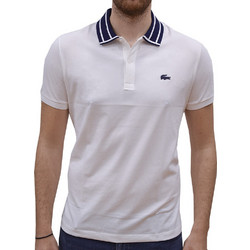 3aff271a723c LACOSTE POLO T-SHIRT SLIM FIT STRETCH BLANC