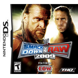 WWE Smackdown Vs Raw 2009 - DS