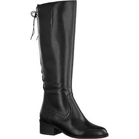 83257250c377 Tamaris γυναικείες μπότες χαμηλές 25541-21 001 μαύρο δέρμα