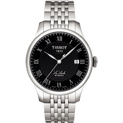 065d9e2b9d Tissot Black T-Classic Le Locle Grey Stainless Steel Bracelet T41148353