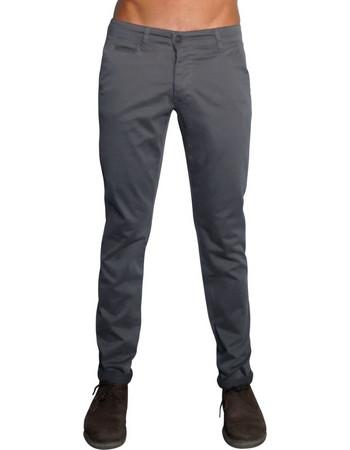 Ανδρικό Chinos Παντελόνι MARC - ΑΝΘΡΑΚΙ bad490b7c3c