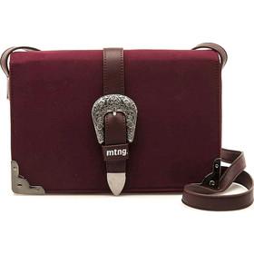 Μπορντό τσάντα χιαστή MTNG BLED b3dea42beb2