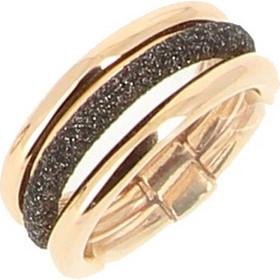Δαχτυλίδι γυναικείο του οίκου Pesavento από συμπαγές ασήμι με επίστρωση  χρυσού 18 καρατίων 406be92571a