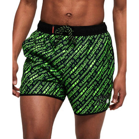 994744613c59 Superdry μαγιό M30011AT-Q2B Echo Racer Swim Short Green