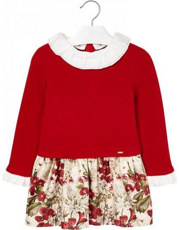 63a43d2ce6e Παιδικό Φόρεμα Mayoral 18-04946-070 Κόκκινο Κορίτσι