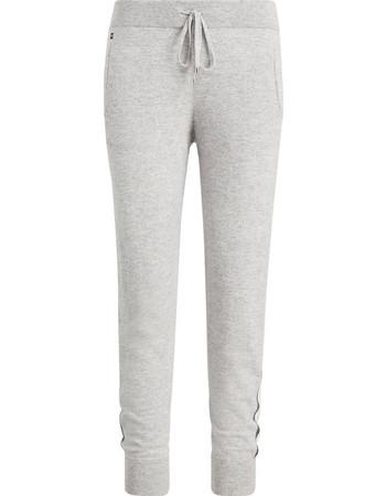 Lauren Ralph Lauren γυναικείο παντελόνι απο κασμίρ Cashmere Jogger -  200715734003 - Γκρι 1d89bab28d7