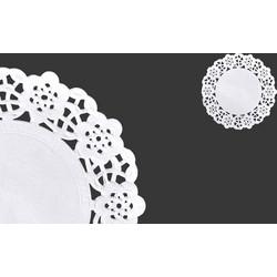 Πανάκια χάρτινα δαντελωτά 90 mm σε λευκό χρώμα για βαζάκια και μπουκαλάκια  - 100 τμχ c4d76e73447