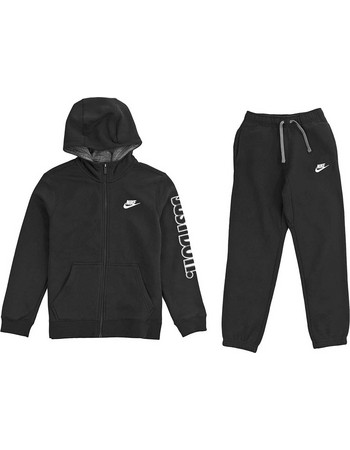 8a269ff1d5f ΦΟΡΜΑ NIKE SPORTSWEAR CLUB WARM-UP TRACK SUIT ΜΑΥΡΗ 805471-010