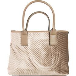 Γυναικεία πούρο τσάντα ώμου βελούδινη καπιτονέ 6016V ba9a350459e