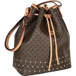 afd134db91 Τσάντα Ώμου Πουγκί Με Τρουκς La Tour Eiffel Logo-Δέρμα 10495 Καφέ-Μόκα