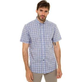 eed726733fb4 The Bostonians ανδρικό καρό κοντομάνικο πουκάμισο με κουμπιά στον γιακά και  τσέπη (sizes 39-