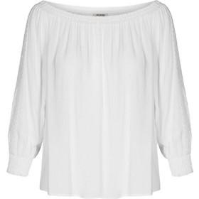 1e708eb302ac Orsay γυναικεία μπλούζα κάρμεν μονόχρωμη με μανίκια 3 4 - 663365-001000 -  Λευκό