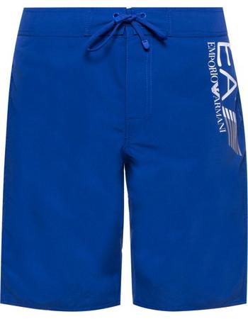 fa2cf0653d Μαγιό μακρύ BW Visibility Emporio Armani EA7 9020068P738 - μπλε ηλεκτρίκ