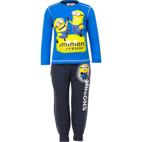 249ace21b7e Παιδικό Σετ Φόρμα - Μπλούζα Χρώματος Μπλε Minions Disney EP1035