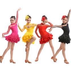 dffffa2a01a0 Παιδική Latin Στολή χορού L18 7718