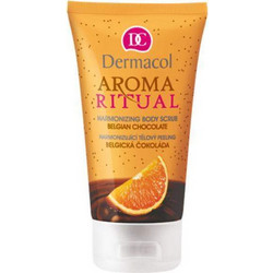 Dermacol Harmonizing Body Scrub Belgian Chocolate With Orange 150ml