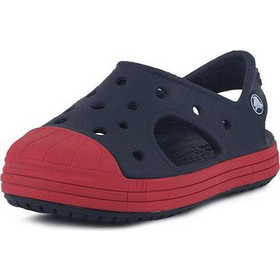 Crocs Bump It Sandal k navy flame Relaxed Fit