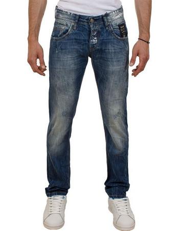 87b6e274f65b Ανδρικό Τζιν Παντελόνι Shaft Jeans 5670 Μπλε