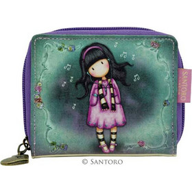 652db2f25c Gorjuss Mini Zip Wallet - Little Song