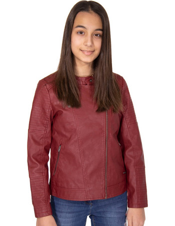 PEPE JEANS MAY ΜΠΟΥΦΑΝ ΠΑΙΔΙΚΟ GIRL PG400754-296 (296 LOTUS RED) d25cdccd811